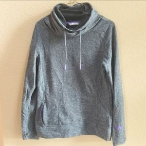 The North face cowl neck front pocket sweatshirt